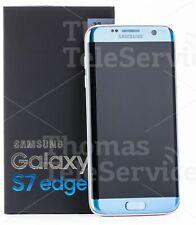 Samsung Galaxy S7 Edge G935f Smartphone Handy Android HD 4G 16MP Kam Blue Blau
