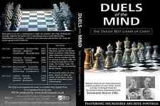 Duels of the Mind - The 12 Best Games of Chess - Ray Keene 4 DVD set
