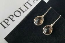 "IPPOLITA - Rock Candy Smoky Quartz Teardrop Earrings - 1"" Drop - Stunning!"