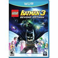 Lego Batman 3: Beyond Gotham For Wii U Brand New 4E