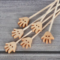 10pcs Palm Hand Diffuser Rattan Reed Sticks Bathrooms Decor Replacement Refill