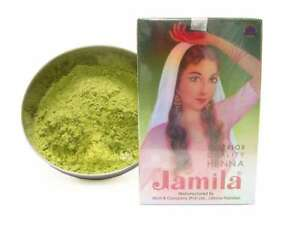 JAMILA Henna Powder 100g 2019 Crop Fresh Sifted Body Art Quality Mehndi Tattoo
