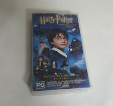 Harry Potter and the Philosophers Stone VHS Video Tape Cassette GC