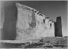 "Ansel Adams Photo Church Side Wall & Tower w/ Cross 1941 -17""x22"" Fine Art Print"