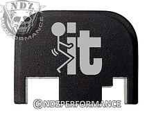 for Glock Rear Plate 17 19 21 22 23 27 30 34 36 41 Blk G1-4 F It Stickman