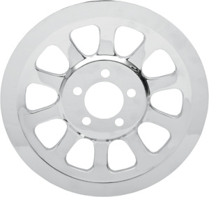 Drag Specialties Chrome Outer Rear Pulley Insert 1201-0444