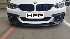 For BMW F32 F36 M-tech sport 330 Carbon Fiber Front Lip Spoiler P Style