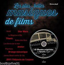 Beau livre + CD - Les plus belles musiques de film