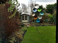 Hand Made Glass Pebble Balloons Suncatcher or Wall Mount.