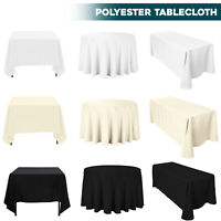 Rectangle Round Table Cloth Covers Protector Dining TableCover Tableware Decor