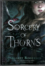 Sorcery of Thorns Margaret Rogerson Brand New Hardcover with DJ Cheapest on EBay