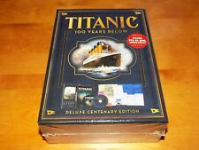 Titanic 100 Years Below - Heritage Collection (dvd 2012 CD Book)