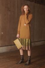 RED VALENTINO TWO TONE GOLD SKIRT...SZ 38...NWT