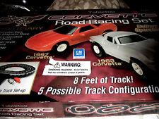 OFFICIAL 50TH ANNIVERSARY ROAD RACING SET TABLETOP VINTAGE 1963-1967 ESTATE ITEM
