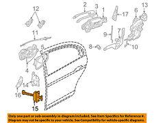 JAGUAR OEM 00-08 S-Type-Door Check Arm Stop Hinge Strap XR856064