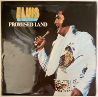 ELVIS PRESLEY PROMISED LAND LP RCA ORANGE LABELS APL1-0873 1974 UK 1E/2E MATRIX