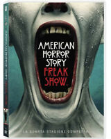 AMERICAN HORROR STORY - FREAK SHOW - STAGIONE 4 (4 DVD) SERIE TV FOX, ITALIA