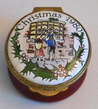 Toye Kenning and Spencer Enamels Neiman Marcus Christmas 1980 Trinket Box