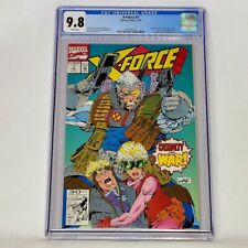 X-Force #7 Marvel 1992 CGC 9.8 Rob Liefeld Cable Cover  X-Men Top Census Grade