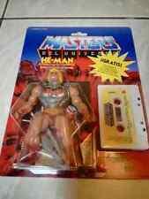 MOTU He-man Armadura de combate SPANISH Cassette MOC battle armor Masters CUSTOM