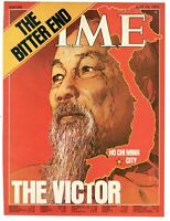 1975 Time Ho Chi Minh City The Victor Vietnam Only Cover Original to Frame