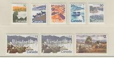 CANADA 594-601MNH SET OF LANDSCAPE DEFINITIVES 1972- 77 HIGH VALUES, 10c - $2.00