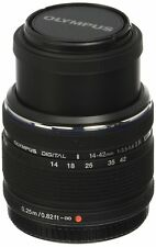 Olympus 14-42 mm f / 3.5-5.6 Ver. II R, lente intercambiable color negro