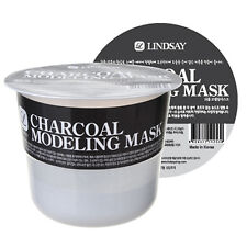 Lindsay Charcoal Modeling Mask w Free Konjac Sponge - Detoxifying Problem Skin