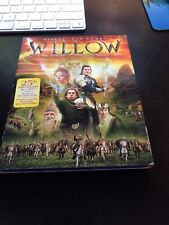 WILLOW with Rare SLIPCOVER OOP BLU-RAY MOVIE 1988 Ron Howard MINT