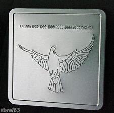 2000 Canada Millennium Keepsake set from Canada Post - 3 stamps + medallion