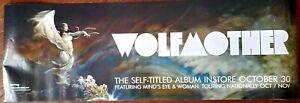 "FRANK FRAZETTA WOLFMOTHER 13x39"" ALBUM BANNER POSTER VF-NM 2006,w/Bonus Prints"