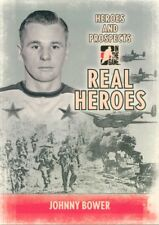 09/10 ITG HEROES & PROSPECTS REAL HEROES #RH-16 JOHNNY BOWER LEAFS *49733