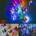 3dwall Sticker Led Butterfly Decoration Night Light Indoor Home Wall Decor Party