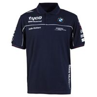 Tyco BMW Superbike Racing Team Polo Shirt   New   2018 Official Merchandise