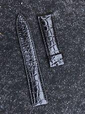 Breguet Black Alligator Watch Strap 18mm XS Classique Tradition Heritage