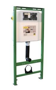 Viega 52700 Eco Plus In Wall Toilet Tank Carrier Model 8180US for 2 x 6 Walls