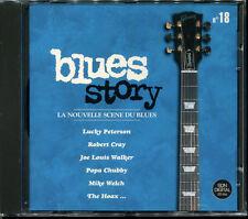 BLUES STORY - N°18 LA NOUVELLE SCENE DU BLUES - CD COMPILATION NEUF SOUS CELLO