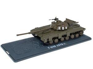 Tank T-64V URSS (1976) - 1/43 IXO Deagostini Char Militaire TA04