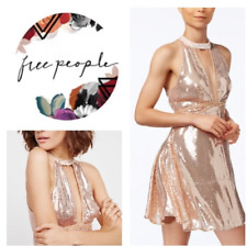 9bb1730c16e7 New ListingNWT Free People Film Noir Sequin Mini Dress Rose sexy sparkle  dress 2