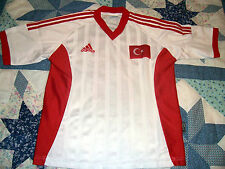 TURKEY FOOTBALL SHIRT ADIDAS NATIONAL 11 HASAN SAS MAGLIA CAMISETA TURQUIA 2001