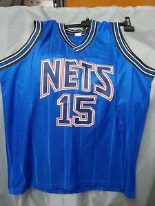 Canotta NBA Vince Carter #15 (Nets, Tg.XL)