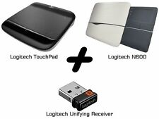 Bundle: Logitech N600 Lapdesk+Touchpad+Unifying Receiver Laptop-Set NEU DHL
