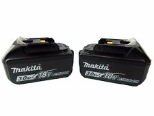 Makita BL1830B 2 Pack 18V LXT Lithium-Ion Battery Packs 3.0Ah with Fuel Gauge