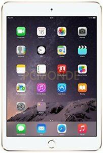 Apple iPad Mini 3 16GB - Wi-Fi + Cellular - Unlocked - Gold (MH3G2LL/A)