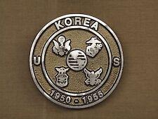 "Korean (1950-53) Veteran Memorial Aluminum Grave Marker with 21"" Ground Stake"