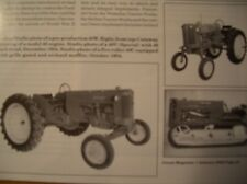 John Deere Model 40 Tractor GREEN Magazine JD Plows
