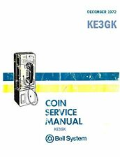 Bell System Coin Service Manual * PDF * CDROM * Telephone Repair