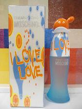 I LOVE LOVE BY MOSCHINO EAU DE TOILETTE SPRAY 1.7 OZ / 50 ML NIB