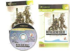 METAL GEAR SOLID 2 SUBSTANCE !!! Mythique sur X BOX