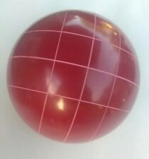 Used Eddie Bauer Red Bocce Ball Replacement